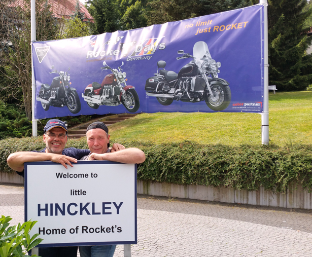 Die Organisatoren: von links: Holger Sprenger und Andreas Colberg.
